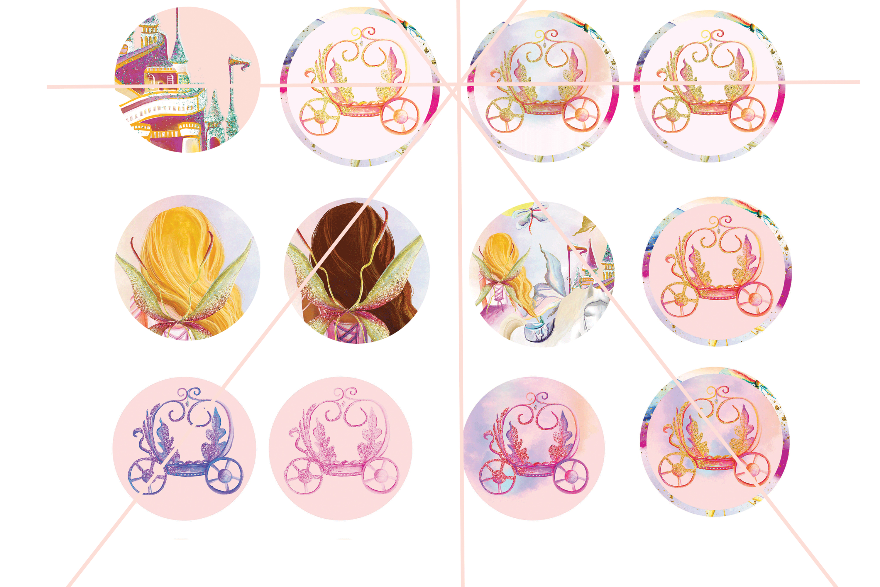 Fairy Tales Cup Cake Toppers example image 5
