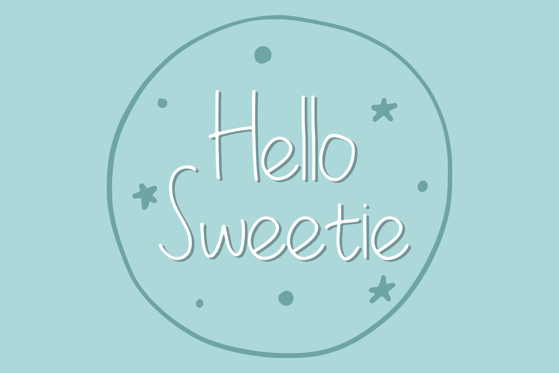 La Petite Handwritten Font example image 4