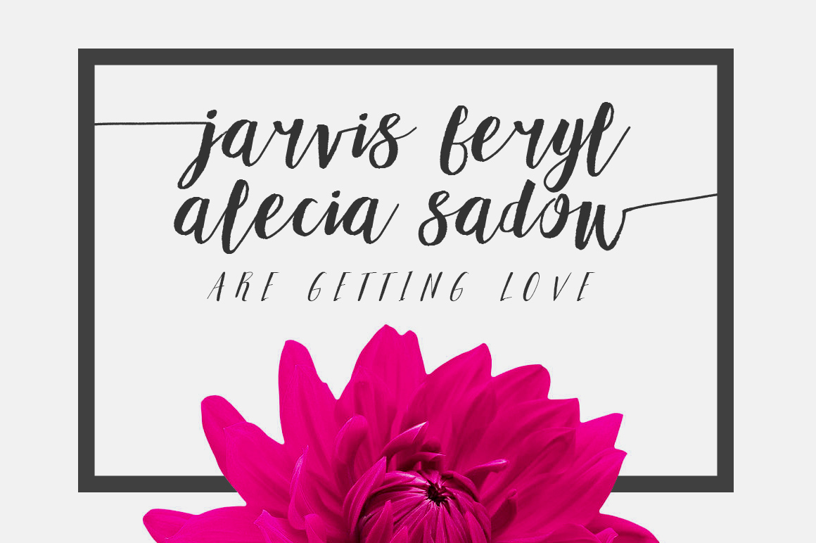 Adellove Typeface example image 5
