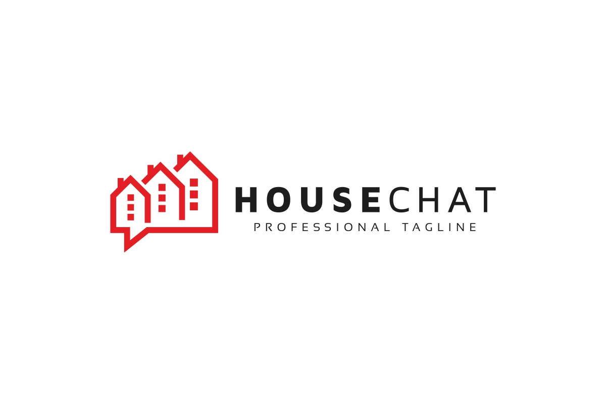 House Chat Logo example image 3
