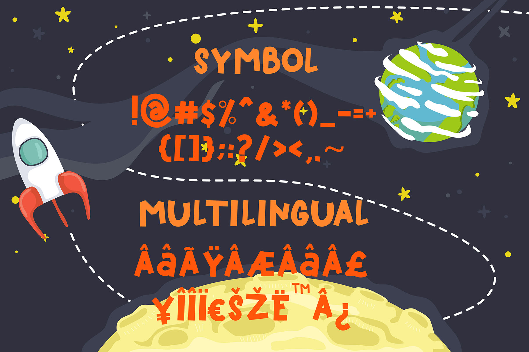 Kidspace - Playful Font example image 3