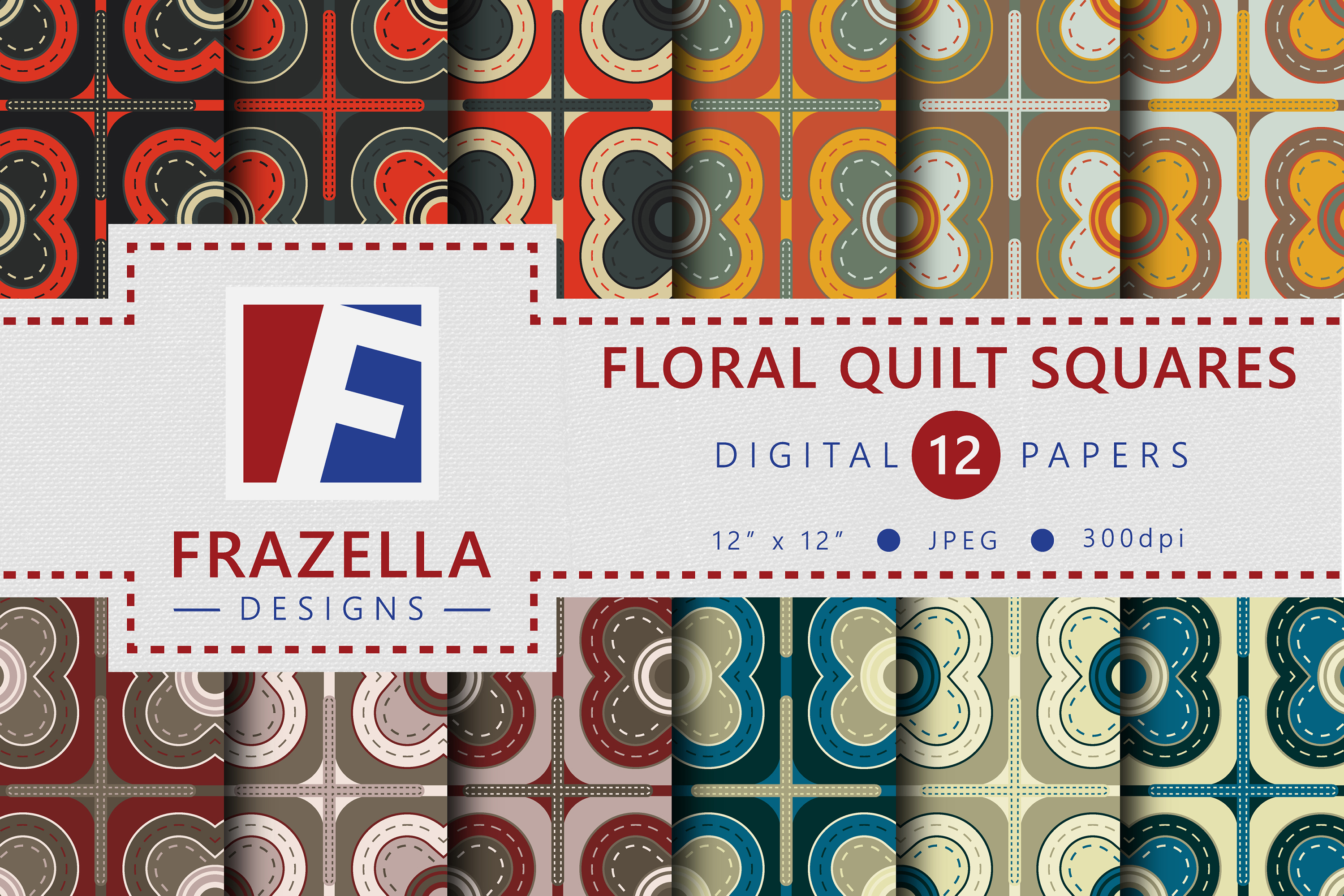The ULTIMATE Digital Paper Collection Retro Edition Vol. 3. example image 6