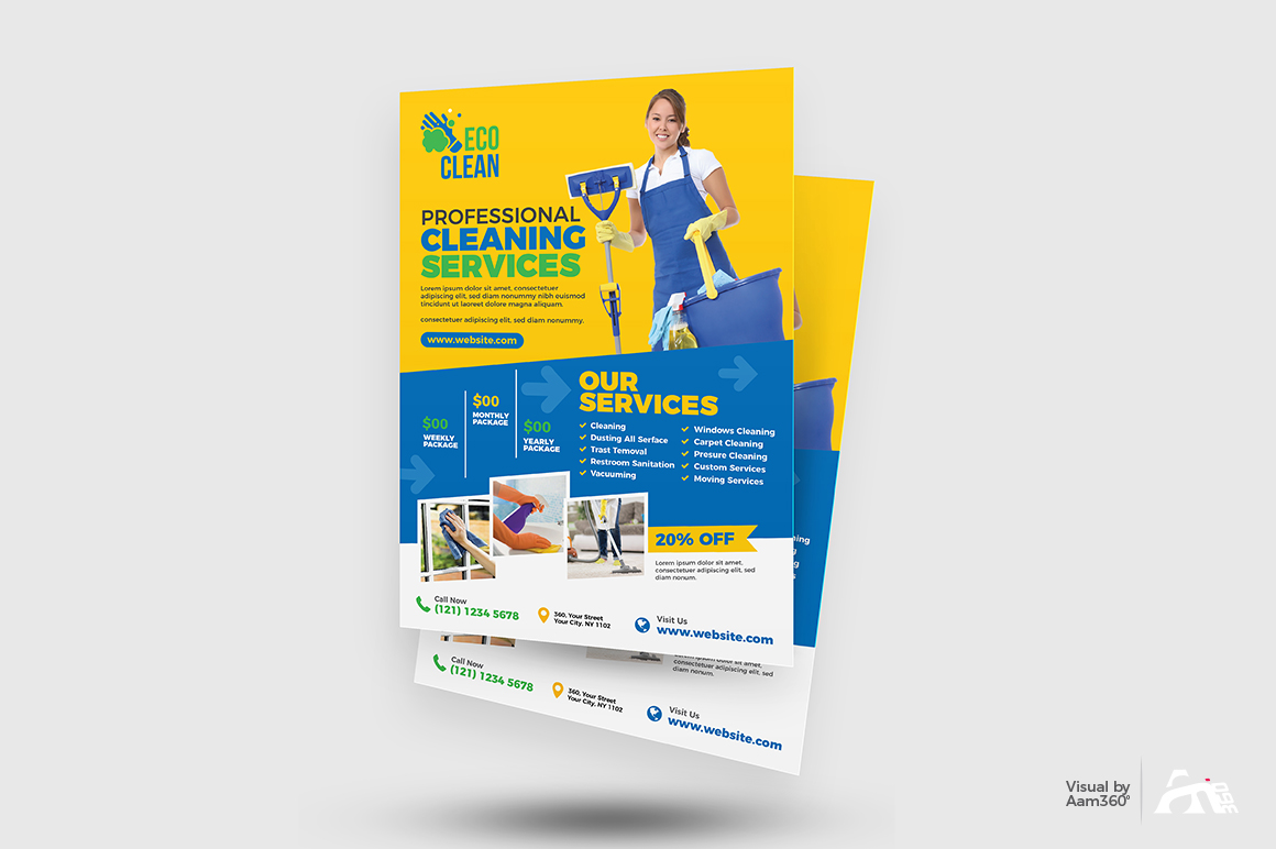 Cleaning Services Flyer example image 2