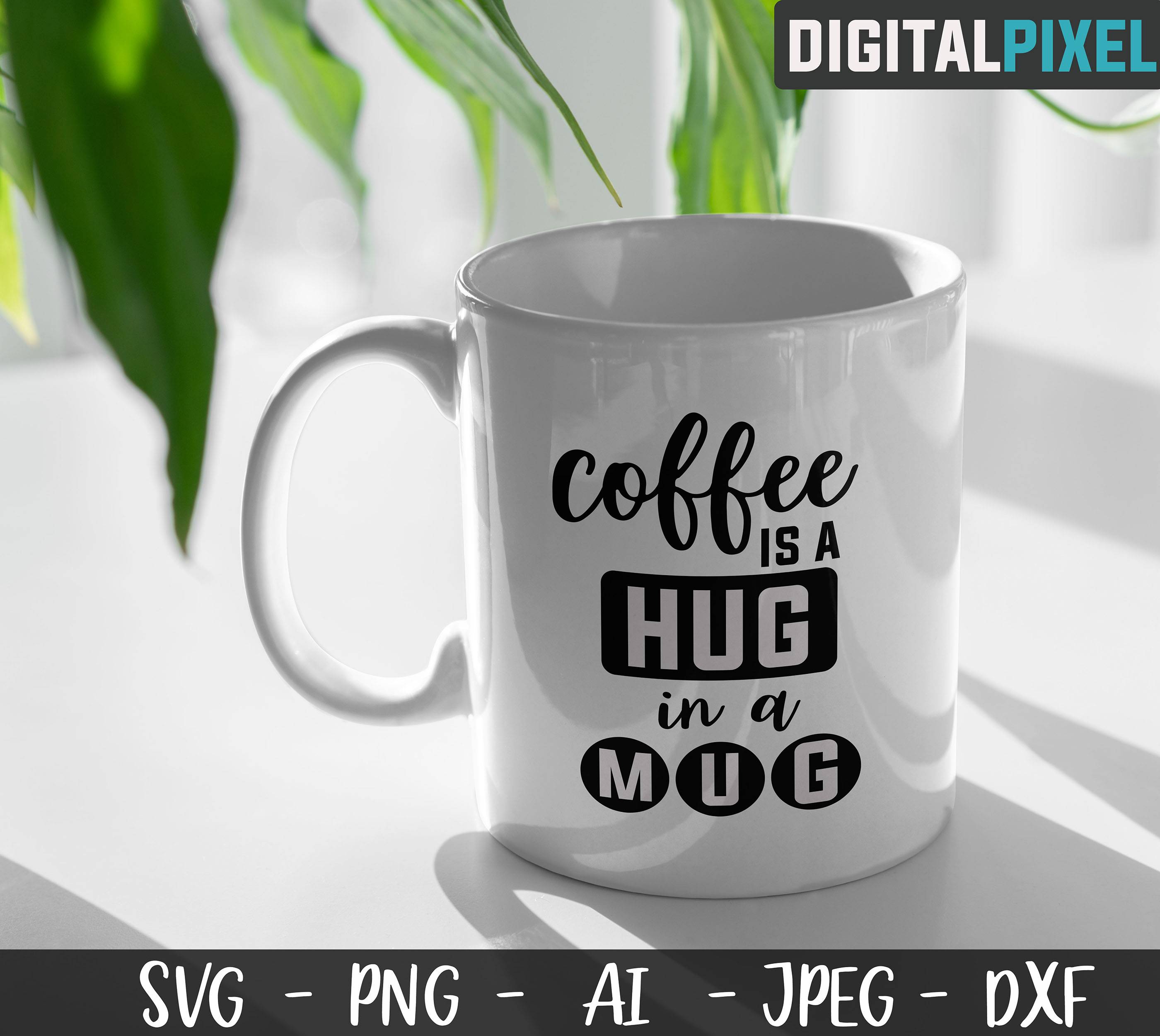 Coffee Bundle SVG PNG JPEG DXF Circut Cut Coffee Crafters example image 4