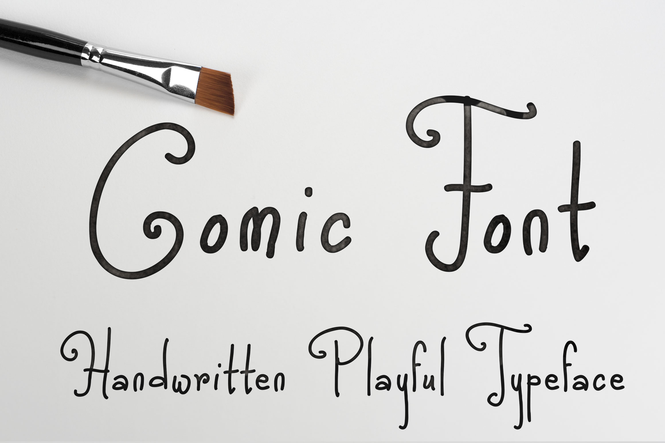 Comic Font example image 1