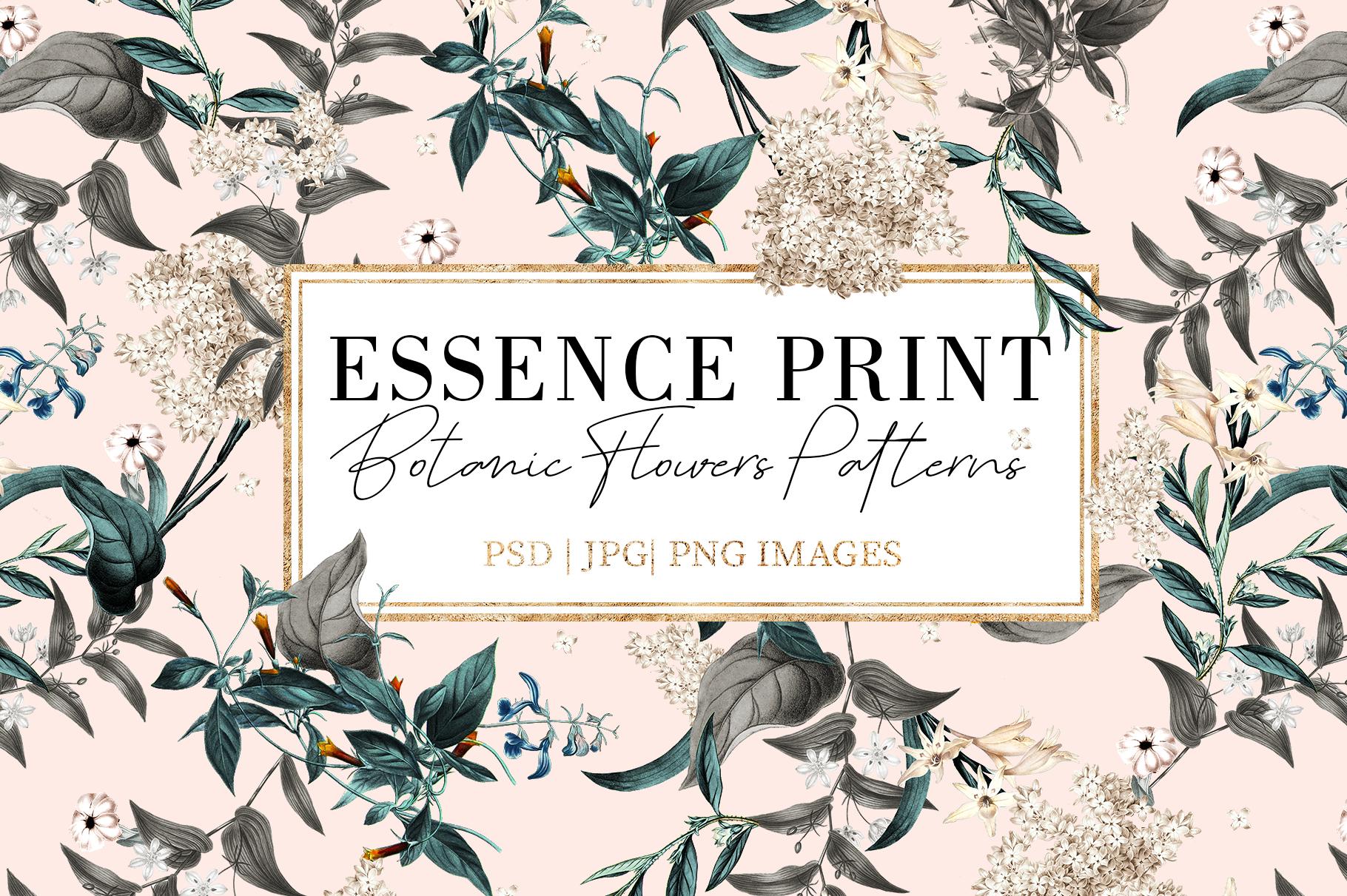 Essence | 3 Seamless Pattern example image 2