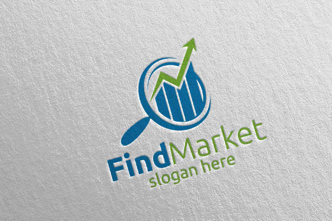 Find Marketing Financial Advisor Logo Design Template 14 example image 2