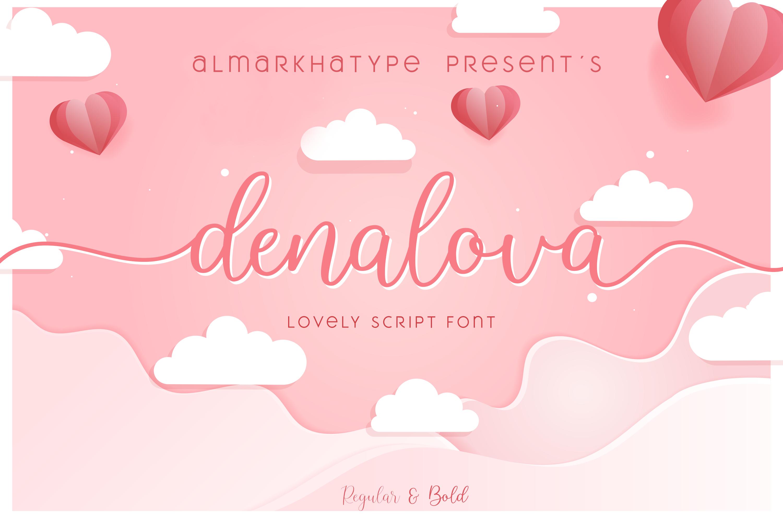 Denalova - Lovely Script example image 8