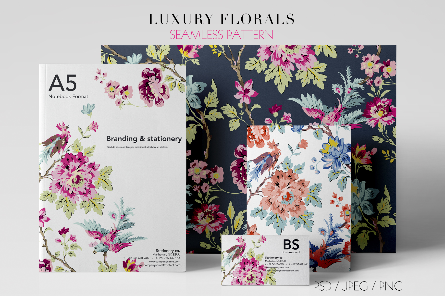 Luxury Seamless Pattern example image 2
