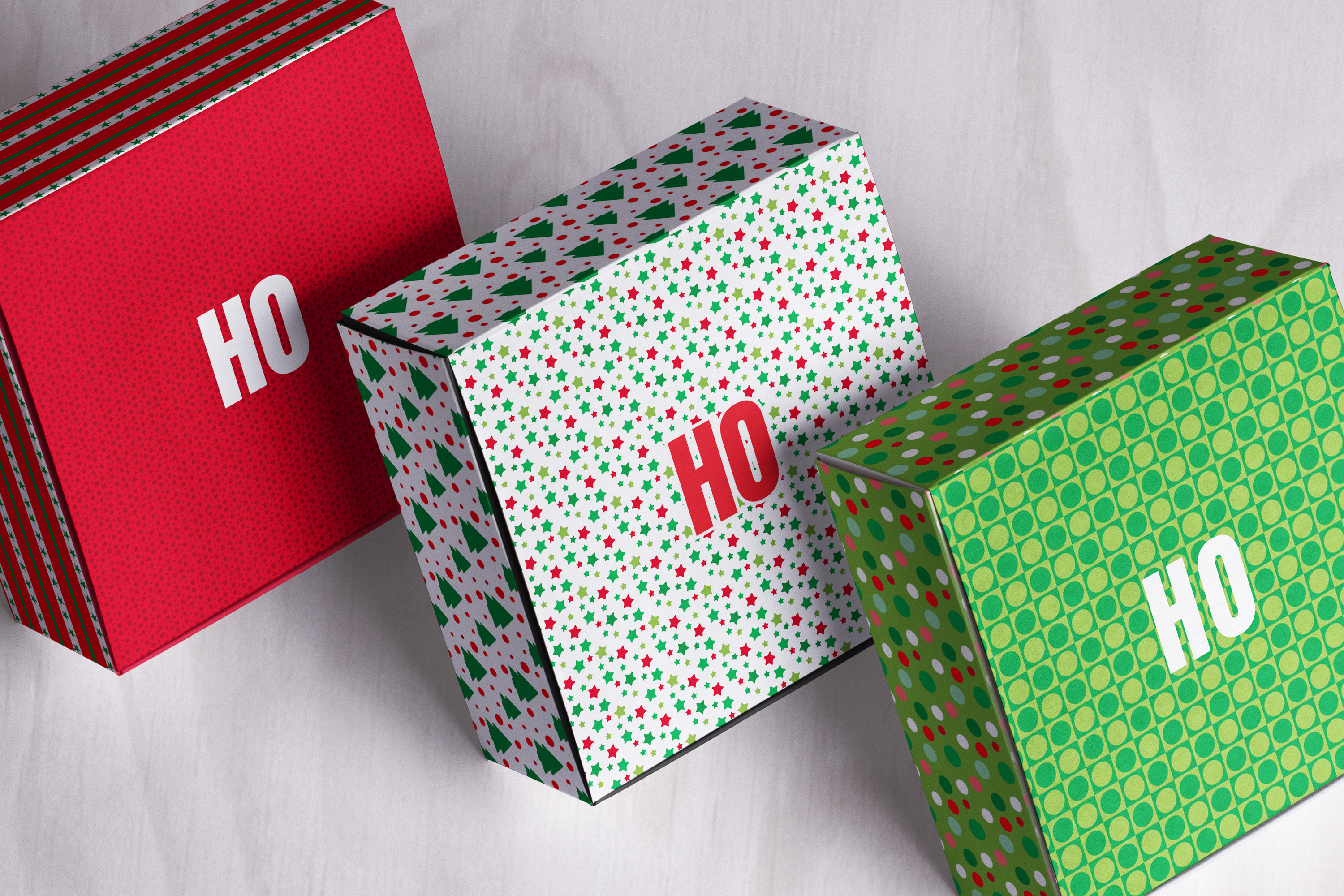 Bright Christmas 12 Tileable Digital Papers example image 6