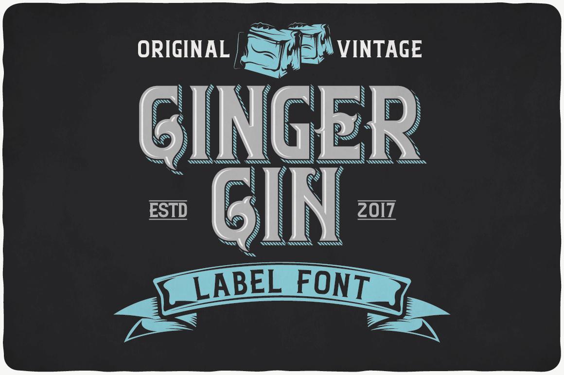 Vintage Fonts Bundle example image 12