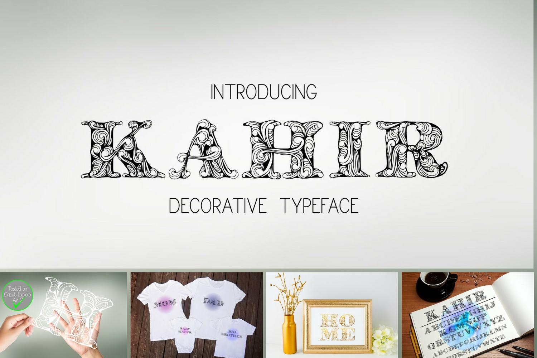 Kahir Font example image 9