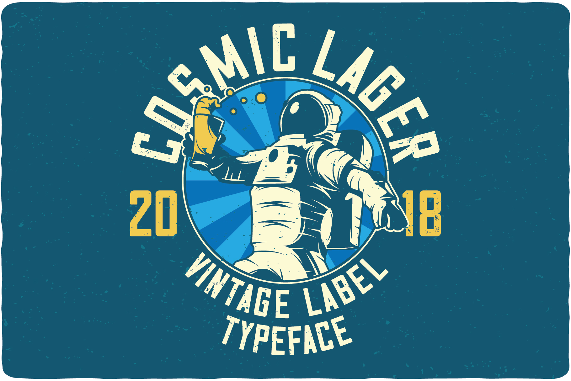 Cosmic Lager with bonus example image 3