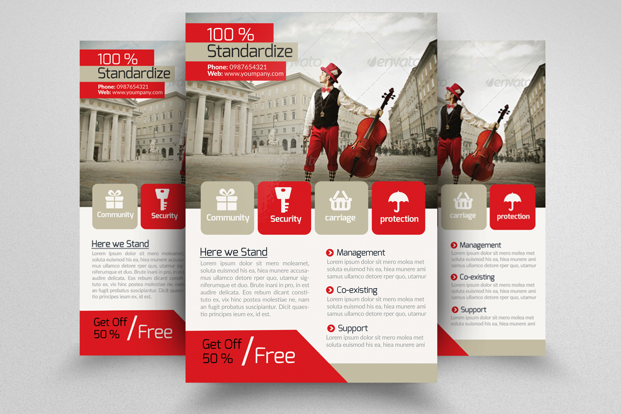7 Corporate Business Flyers Bundle example image 5