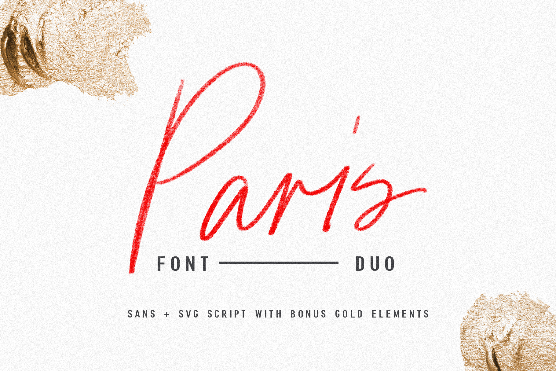 Paris | Font Duo  SVG with Extras example image 1