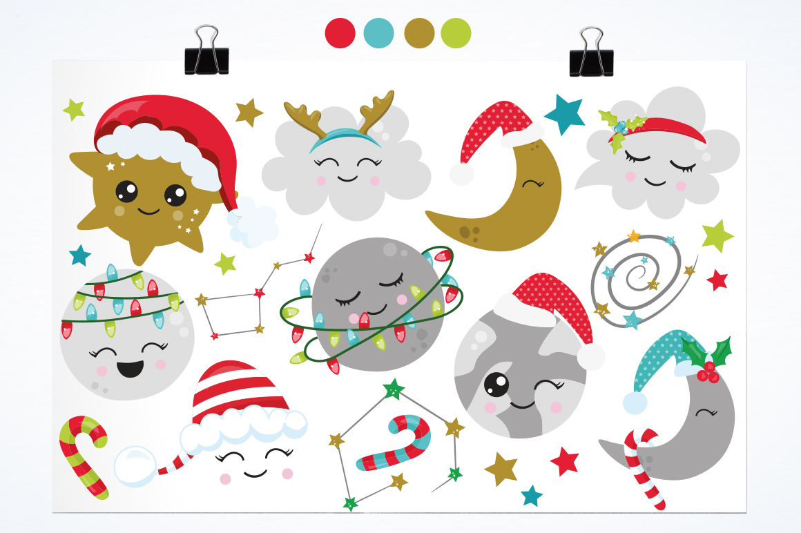 Christmas Dreams graphics and illustrations example image 2