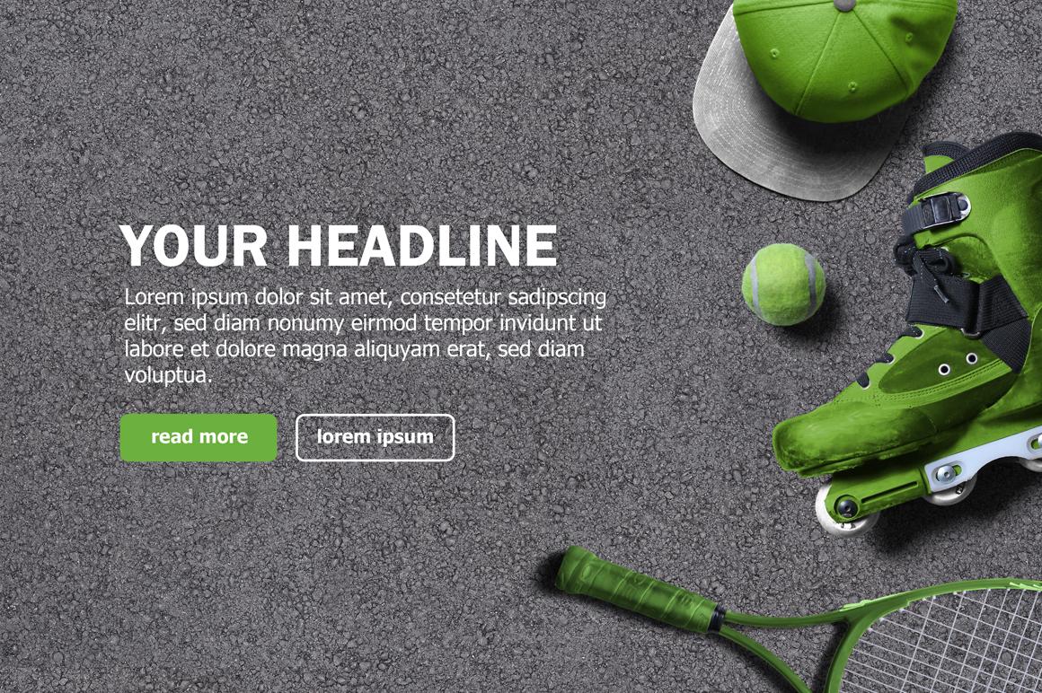 Sport Scene Generator example image 10
