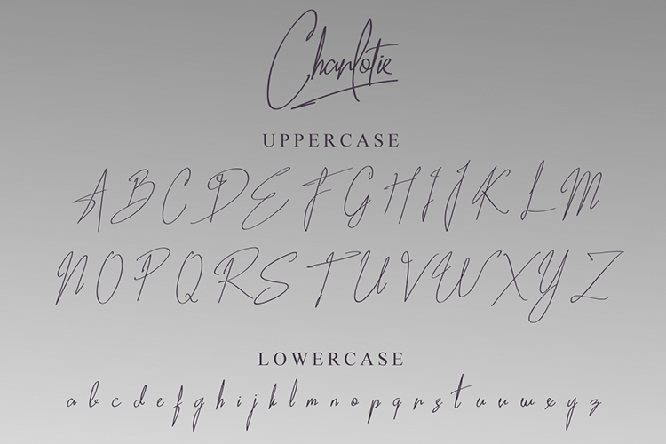 Charlotie Font example image 17