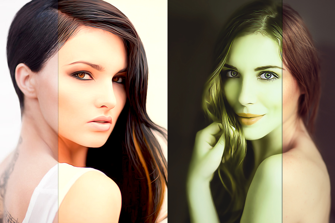 10 Pro Realistic Painting Effects example image 3