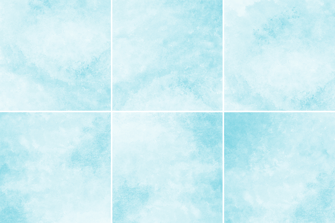 Soft Blue Watercolor Texture Backgrounds example image 3