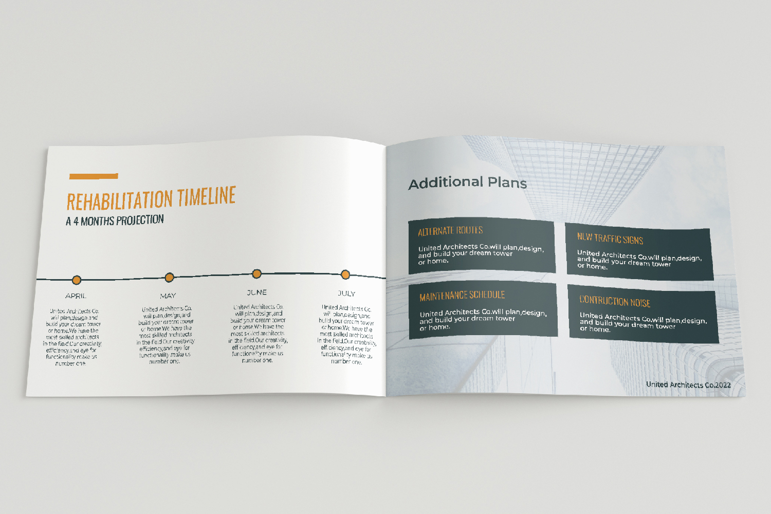 Architecture Presentation - A5-26 PSD Templates example image 11