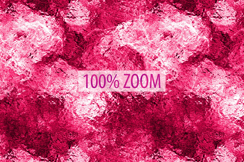 Neon Foil Backgrounds - 10 Seamless Neon Metallic Textures example image 9