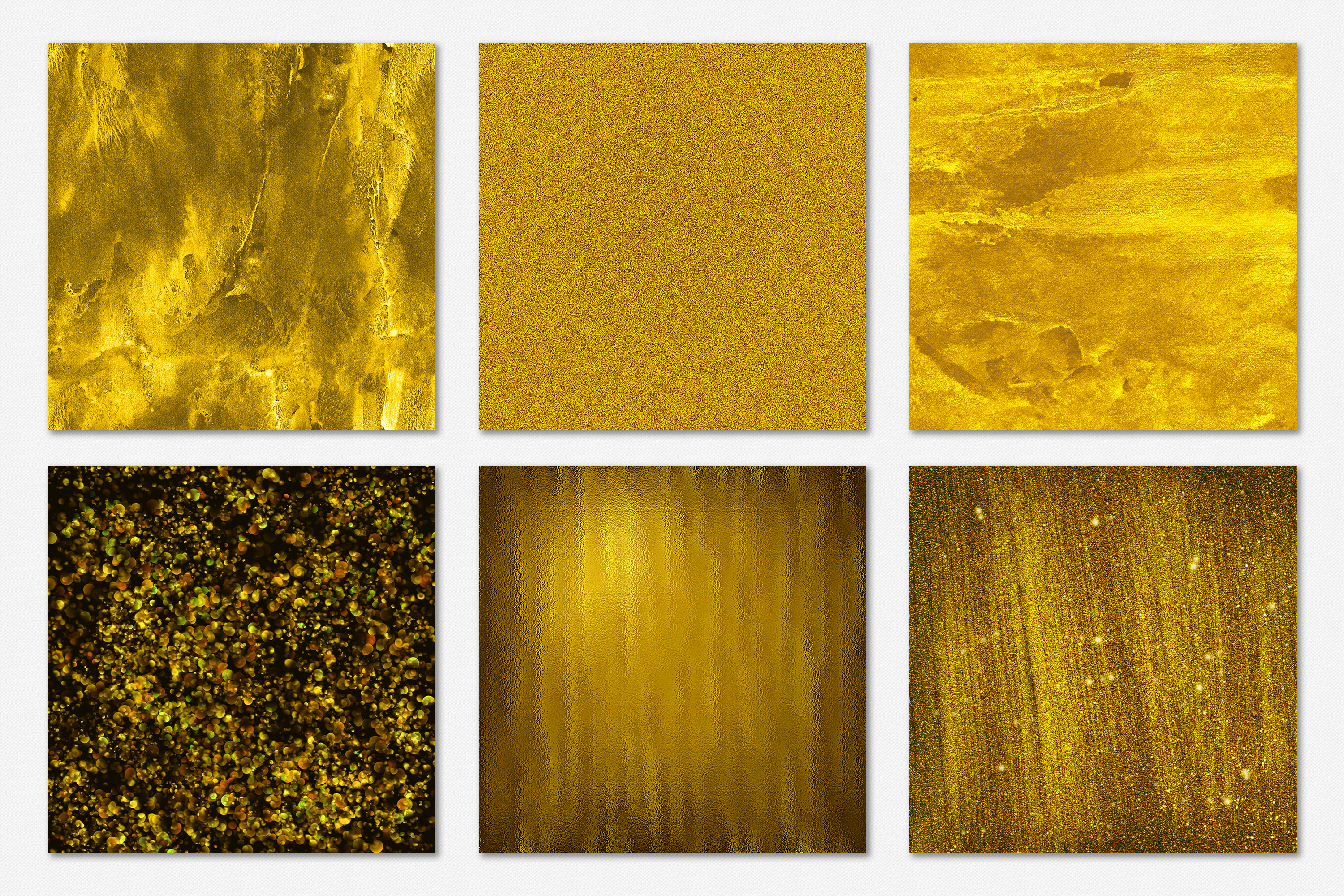 Gold Foil and Glitter Textures - Metallic Digital Papers example image 13