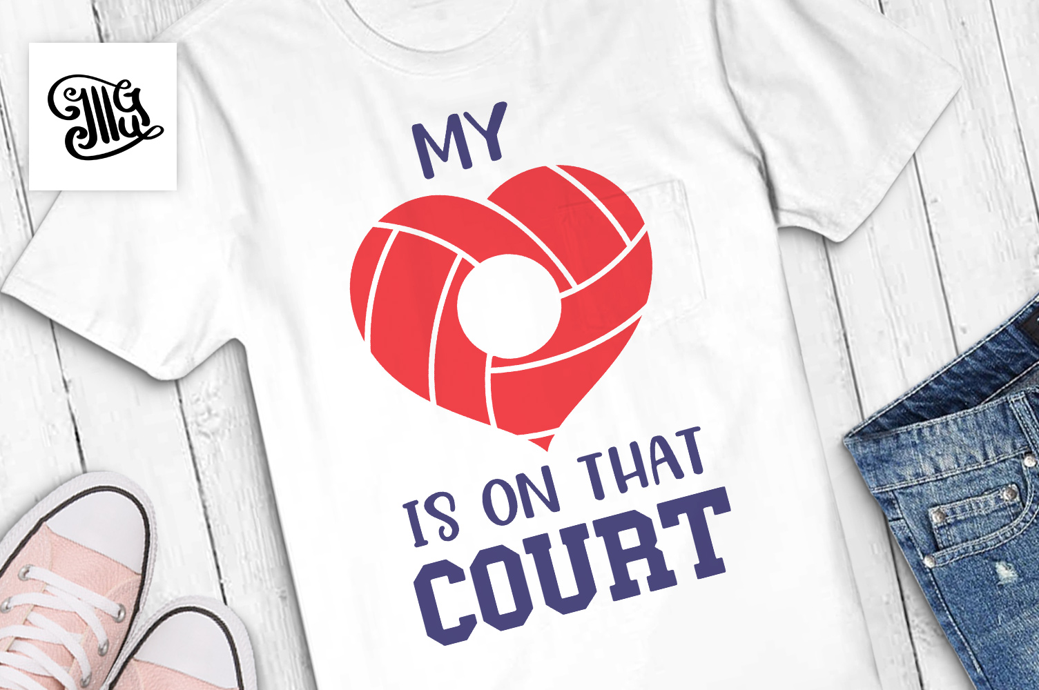 Volleyball svg bundle example image 24
