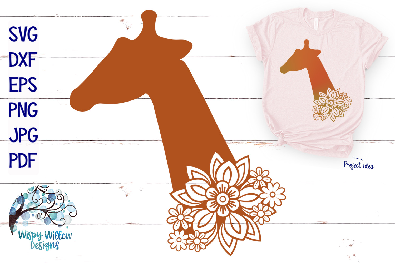 Floral Animal Bundle | Floral Animal SVG Cut Files example image 7