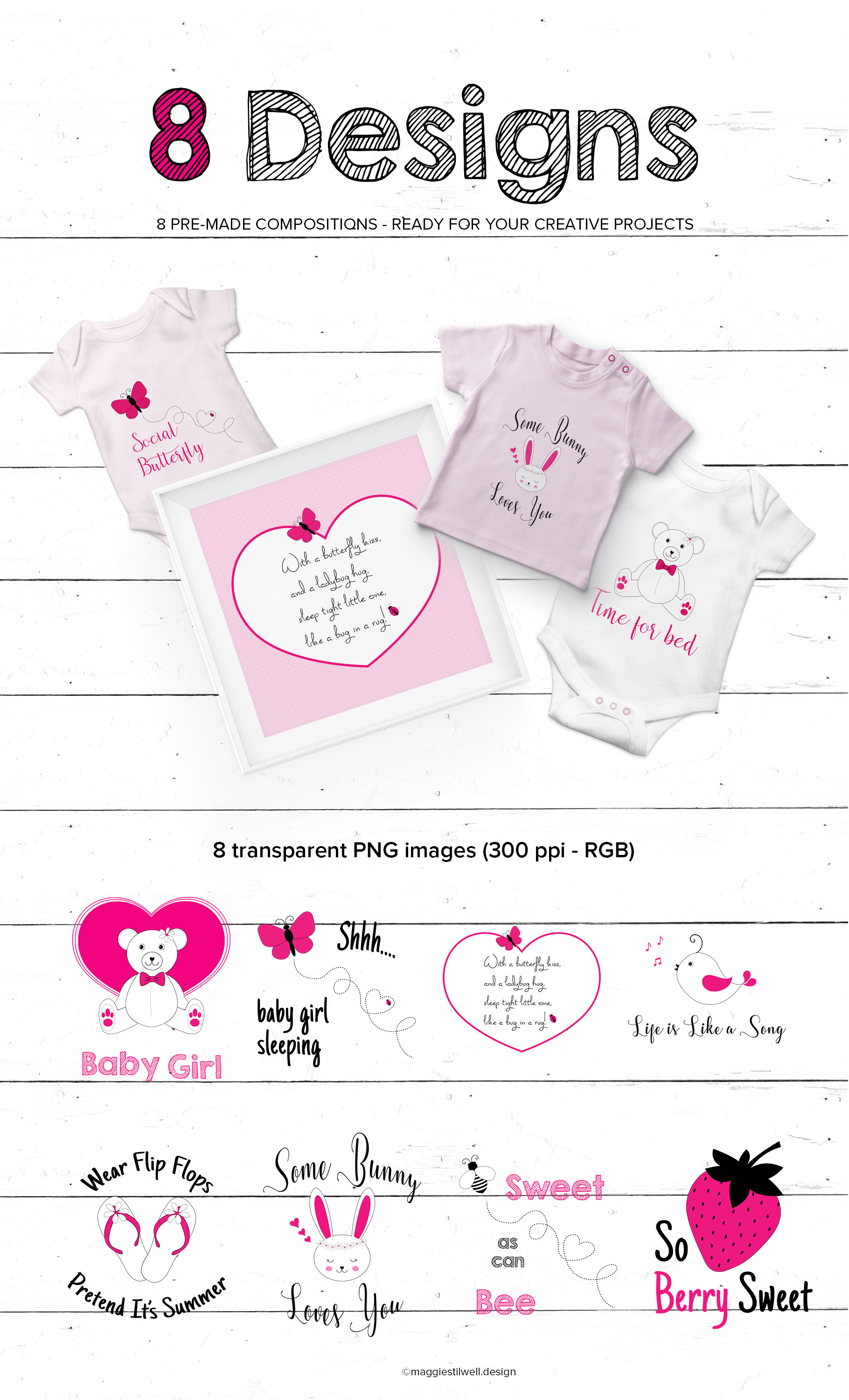 Girlie Doodles example image 8