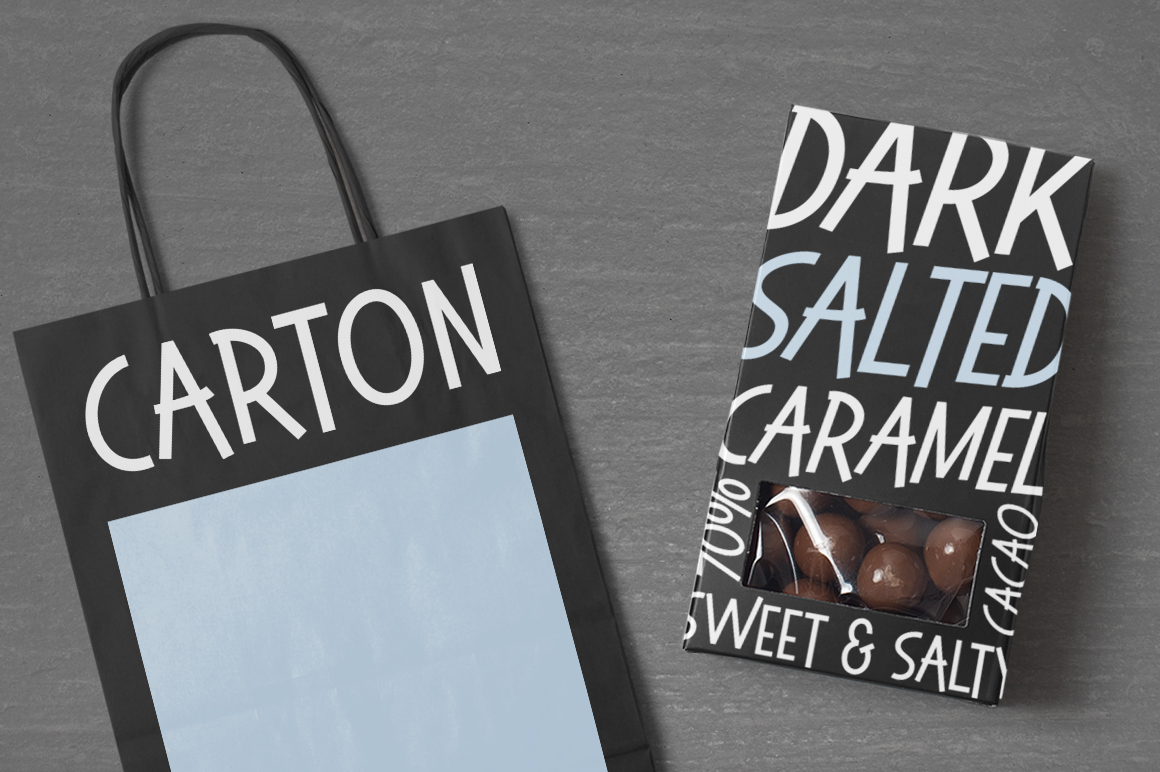 Sweet & Salty | A Bouncy Sans Serif example image 2