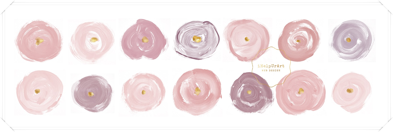 Blush Pink Roses Clipart example image 4