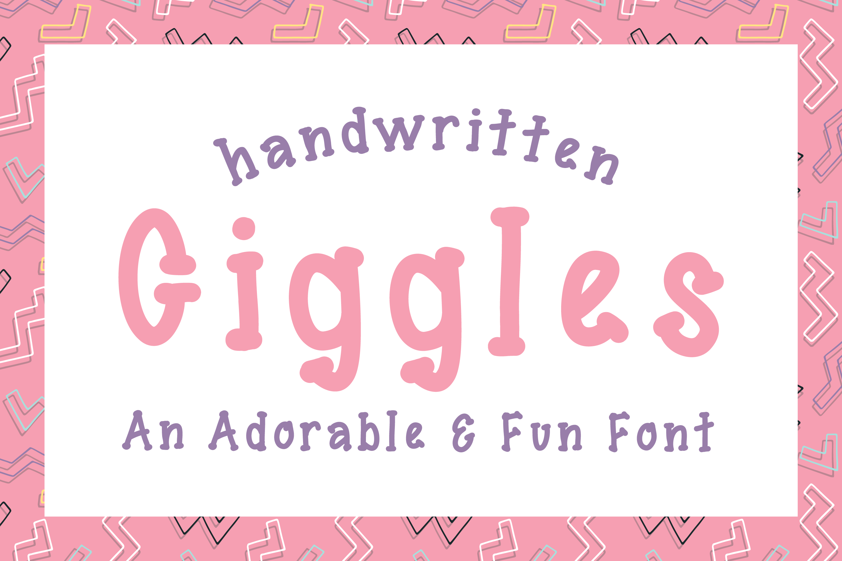 Giggles Dotted Serif Font example image 1