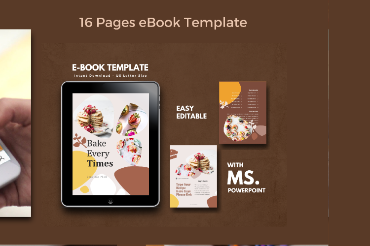 Recipe eBook Creator with Instagram and Youtube Kit example image 3