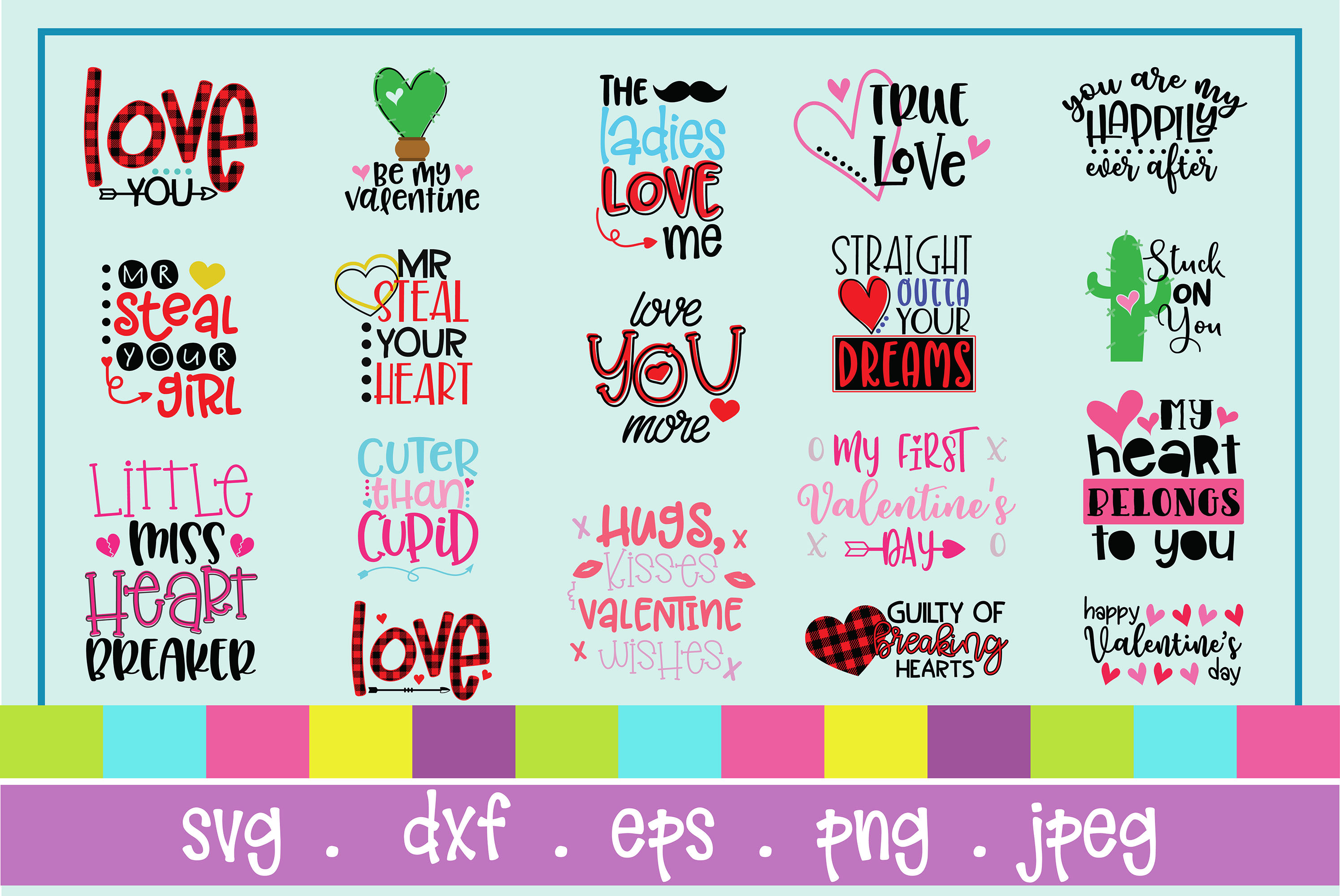 The Huge SVG Bundle Vol 2, 500 Cutting files, SVG, DXF,PNG example image 27