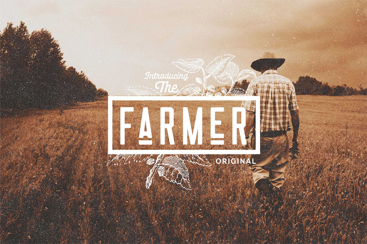 Nomads -The Farmer Original Typeface example image 4