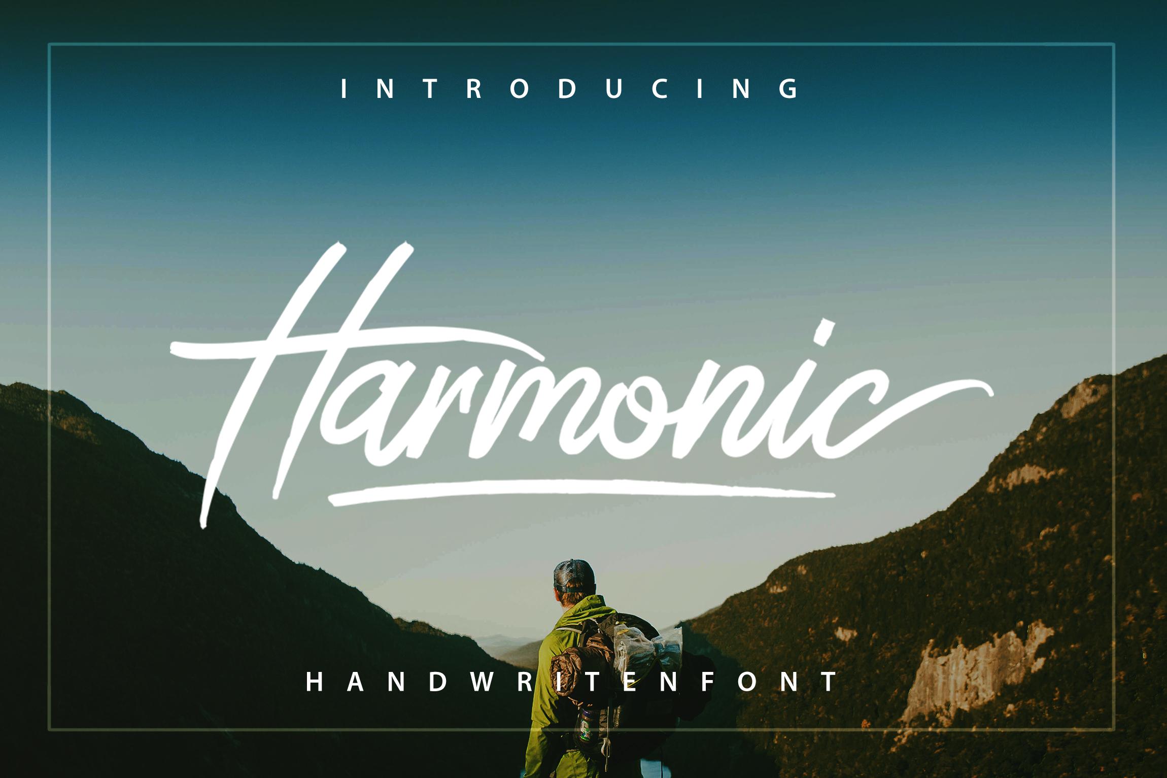 Harmonic Script example image 2