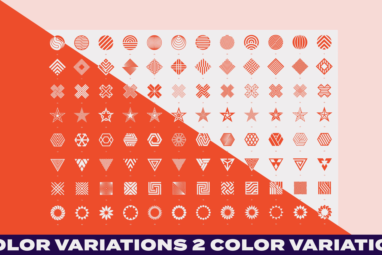 96 Geometric shapes & logo marks VOL.2 example image 9