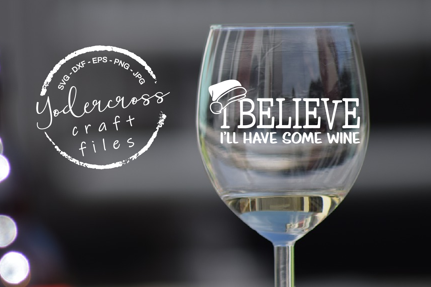 I Believe I'll Have Some Wine SVG example image 4