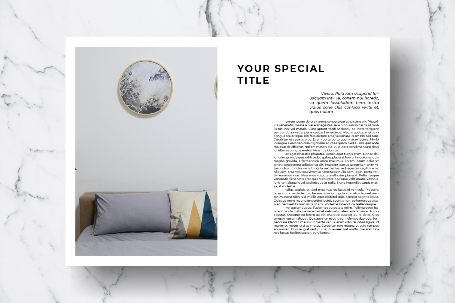Magazine Template Vol. 08 example image 11