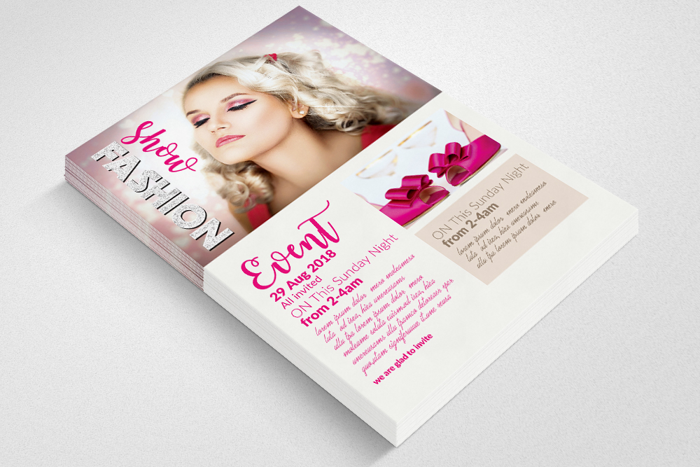 Fashion Ad Flyer example image 3