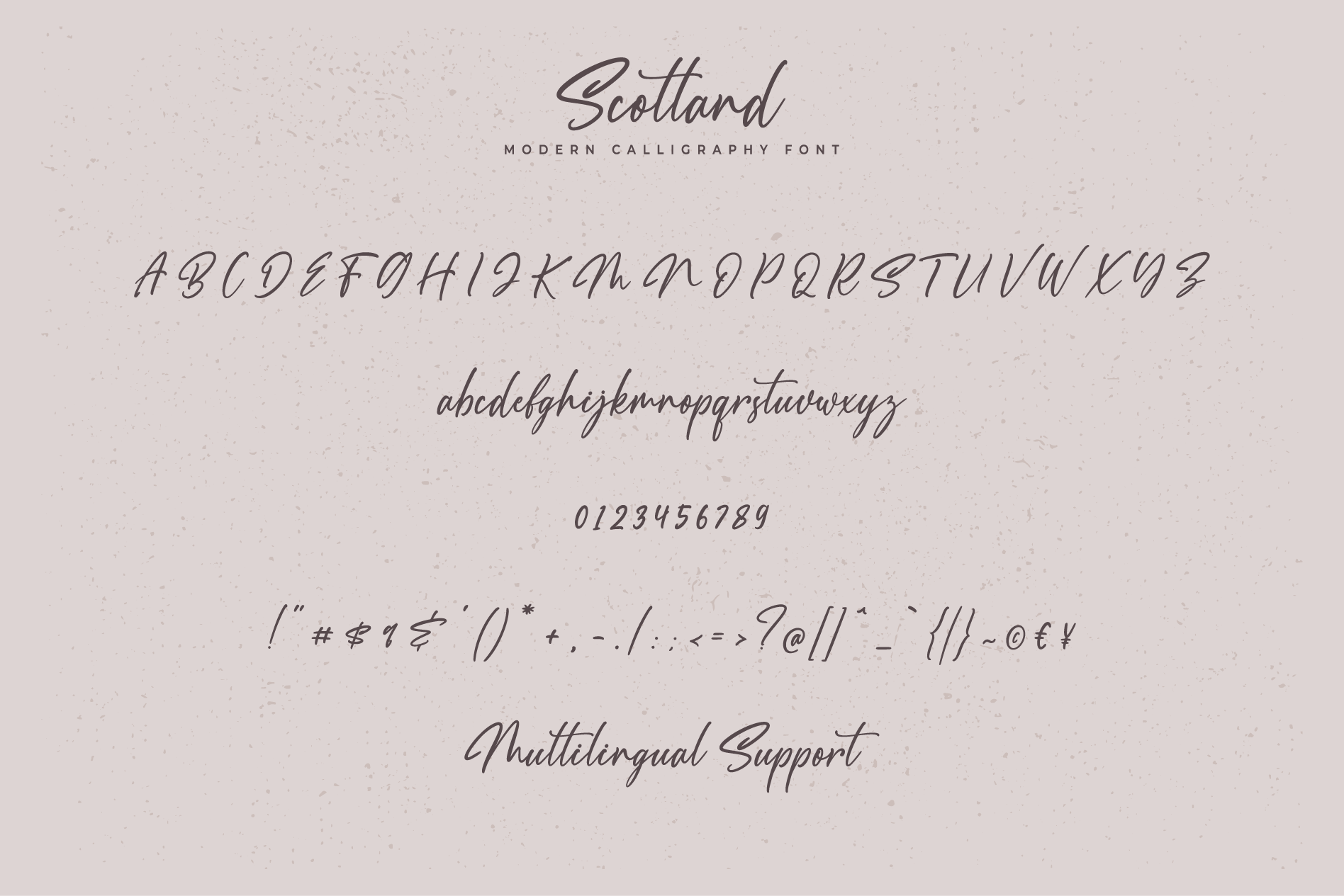 Scotland - Modern Calligraphy font example image 8
