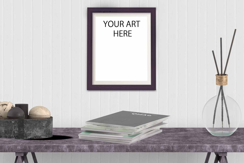 Frame Mockup for Art Listings example image 1