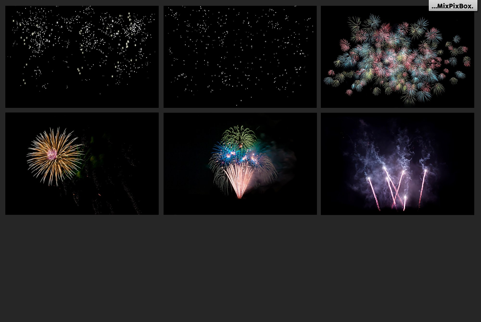 100 Fireworks Overlays example image 16