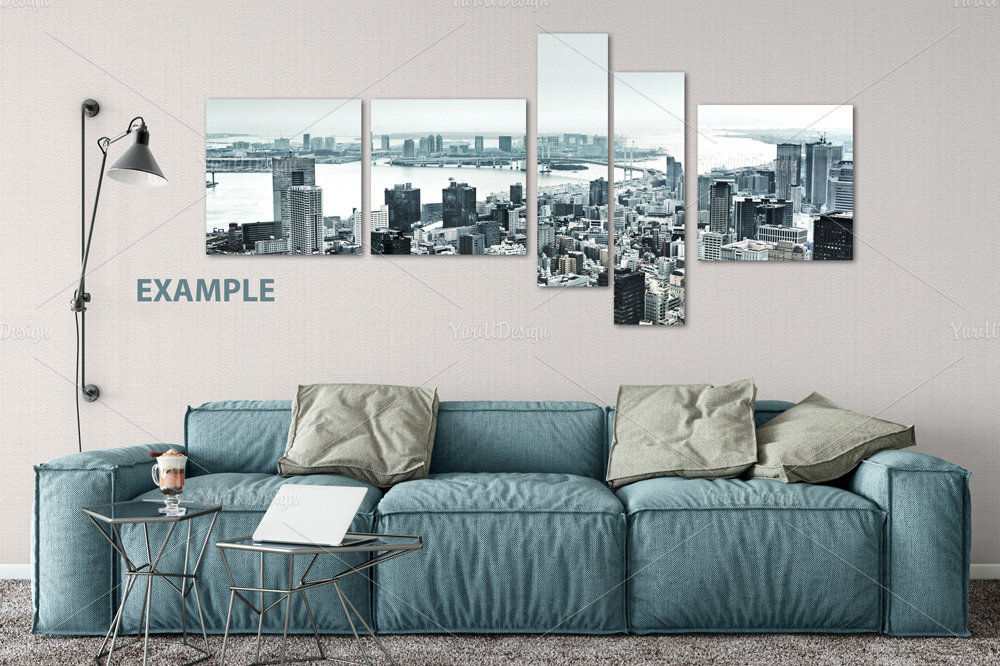 Wall Mockup - Bundle Vol. 1 example image 5