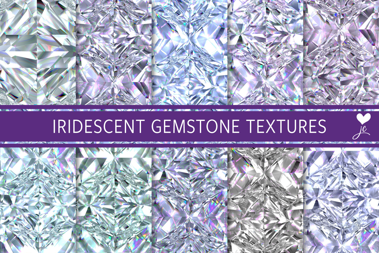 Iridescent Gemstone Textures example image 1