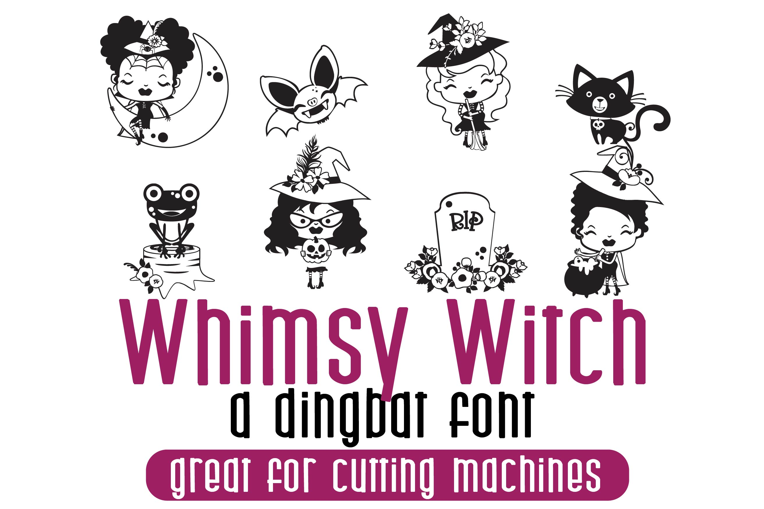 DB Whimsy Witch example image 1