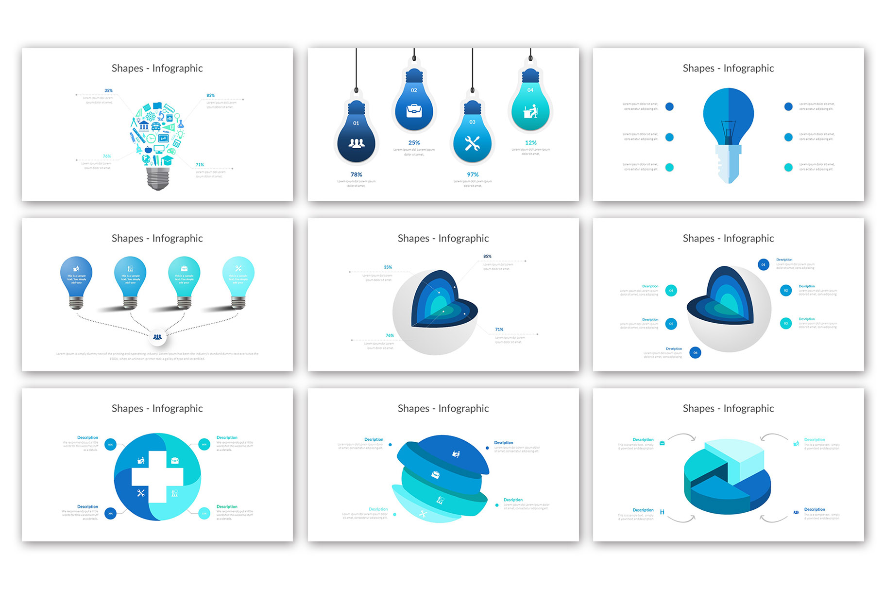 Big Business Presentation Template example image 13