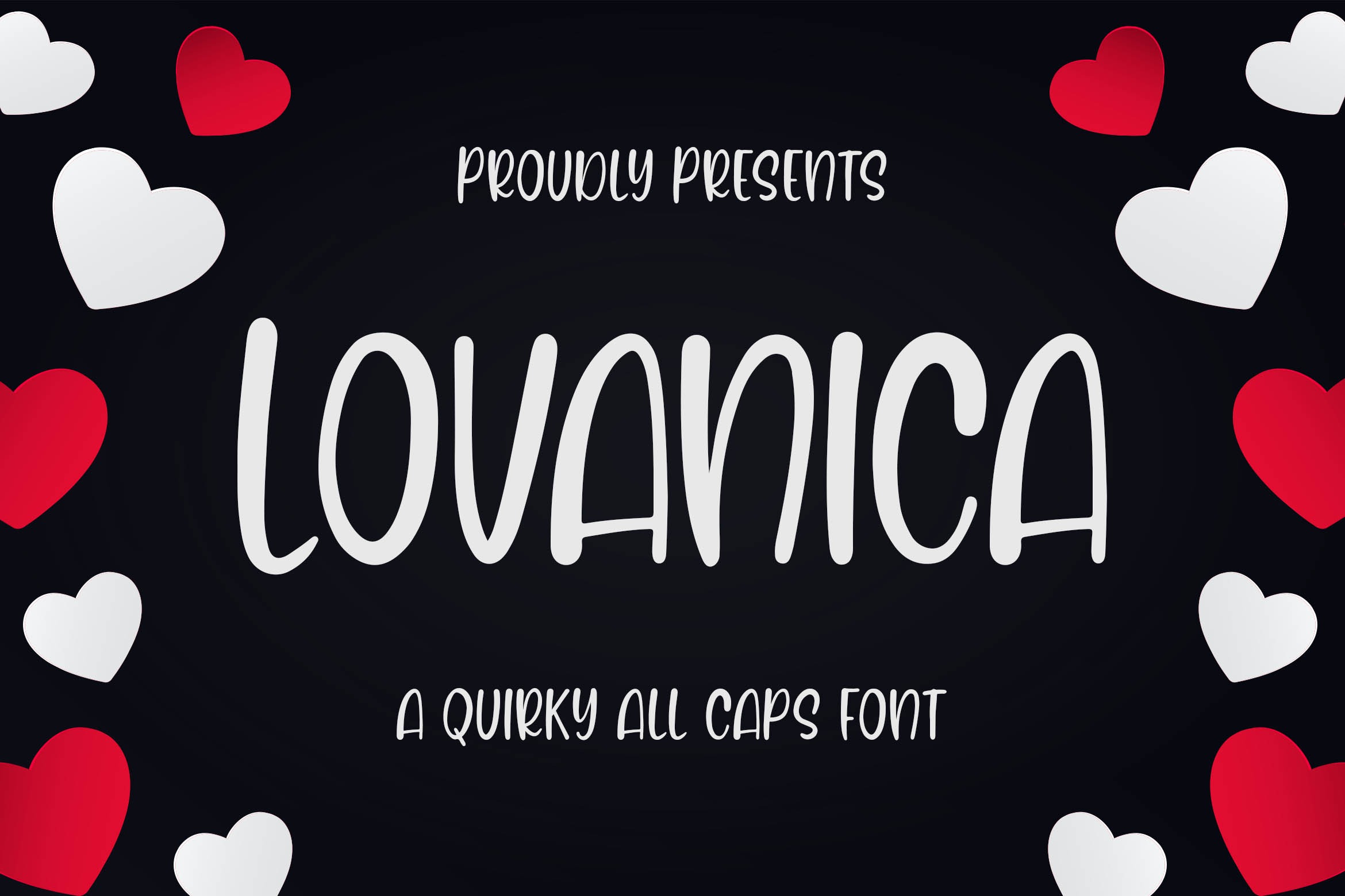 Lovanica - a Quirky Font example image 1
