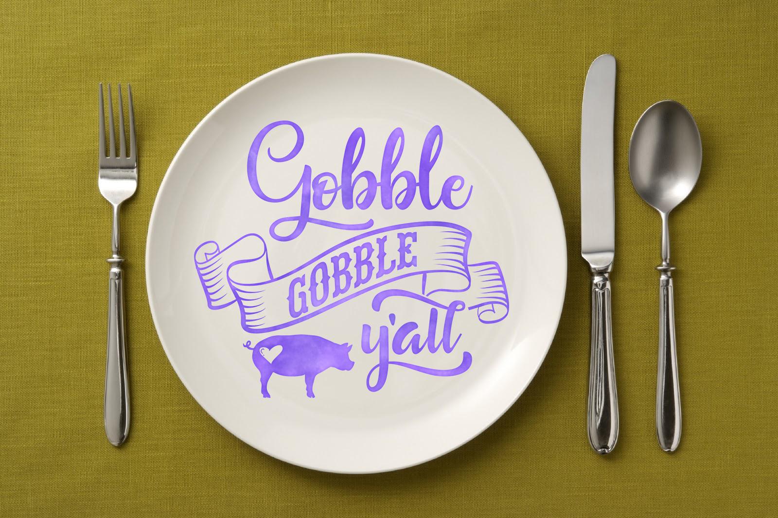 Thanksgiving bundle Gobble Pumpkins Turkey Fall example image 9